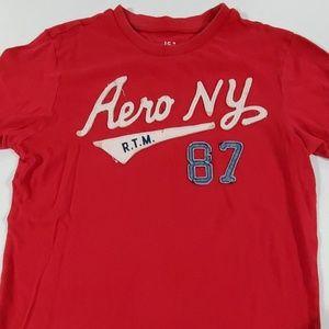 Aero Men's small red tshirt